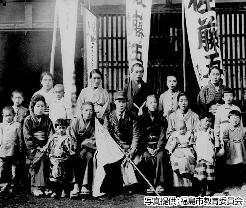戦後70年 平和通りの誕生と発展 戦中の福島市 | ふくしま地域ポータル ...